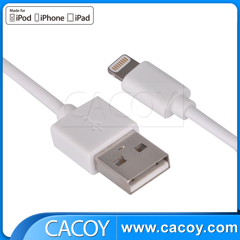 Apple original MFi certificated PVC USB cable for iPhone