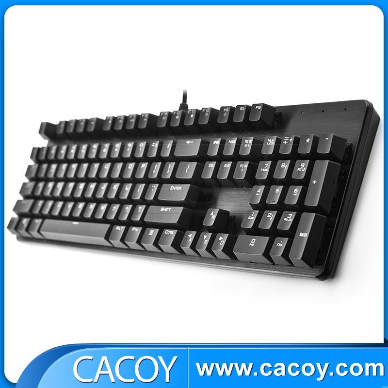 Alloy gaming mechanical keyboard