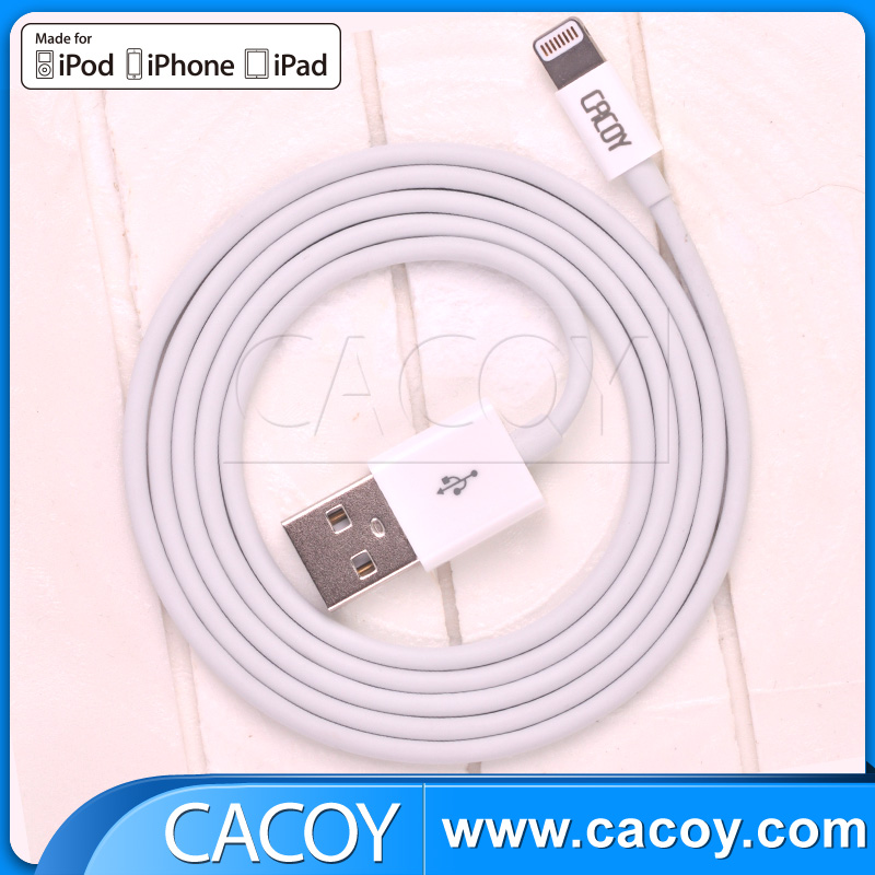 1 M Apple original MFi certificated TPE USB cable for iPhone