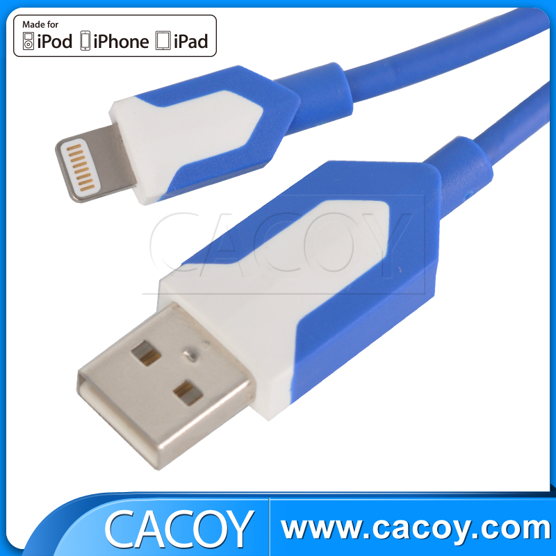 Factory Customized Logo USB data cable for iPhone